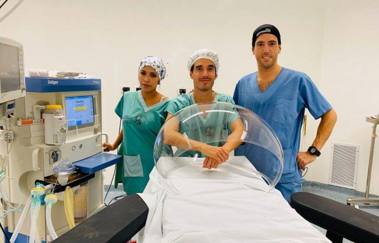 Aerosol Box: un proyecto solidario que busca proteger a los profesionales de la salud | Océano Medicina